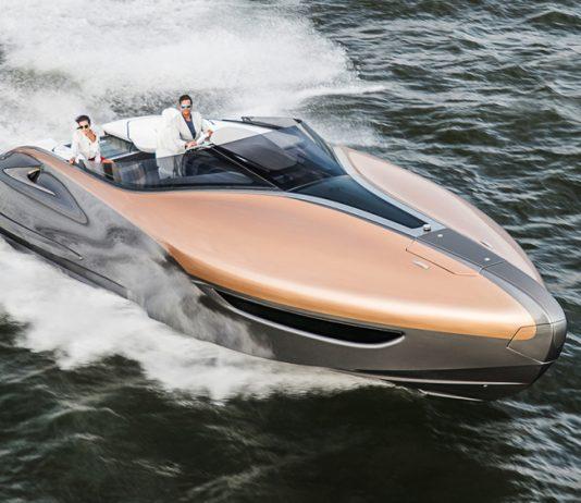 Lexus annuncia uno yacht sportivo di lusso per la cattura di Mercedes